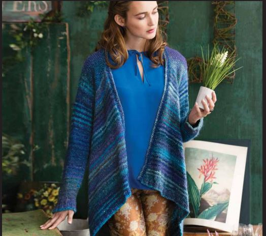 WATERFALL CARDIGAN KIT