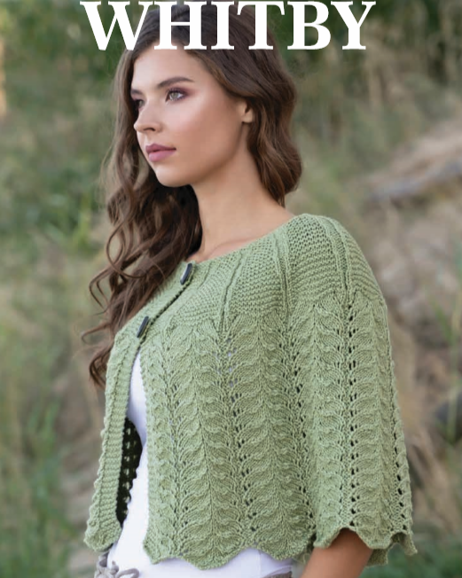 Whitby Capelet Kit by Jody Long