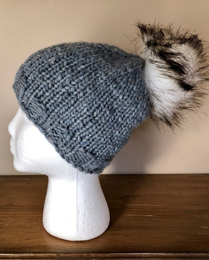 Ushya Super Bulky Pompom Hat Kit