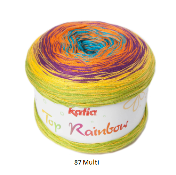 Katia Top Rainbow Yarn