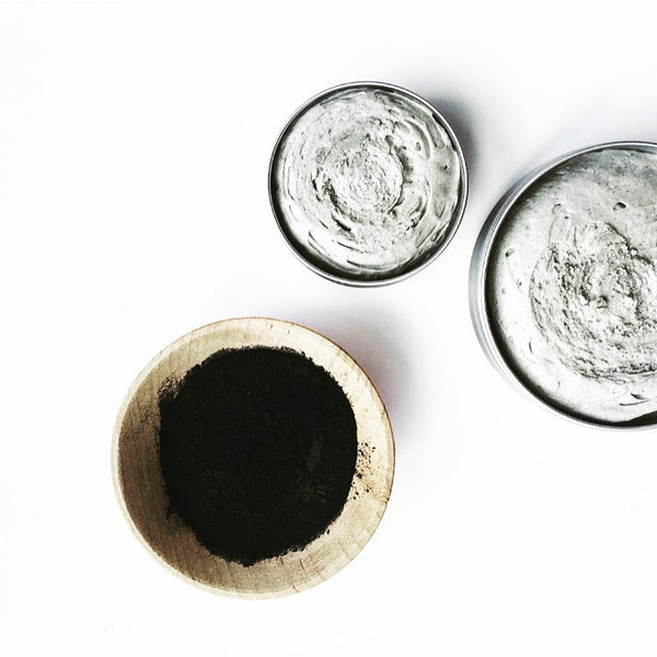 Charcoal Deodorant (Lemongrass + Tea Tree)