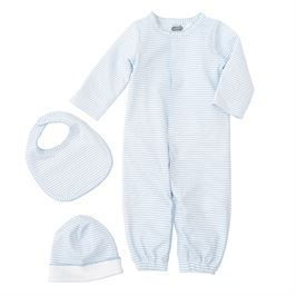 Blue Layette Take Me Home Outfit Set