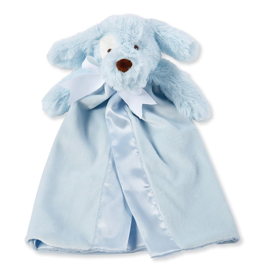 Blue Puppy Security Blanket