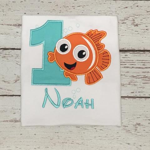 Finding Nemo Birthday Shirt