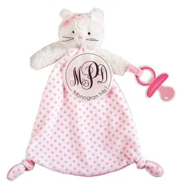 Pink Bunny Pacifier Holder