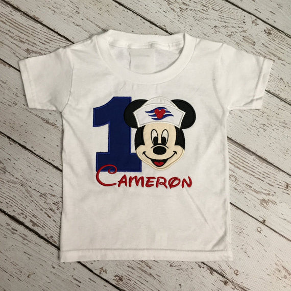 Disney Cruise Birthday Shirt (Mickey Mouse)