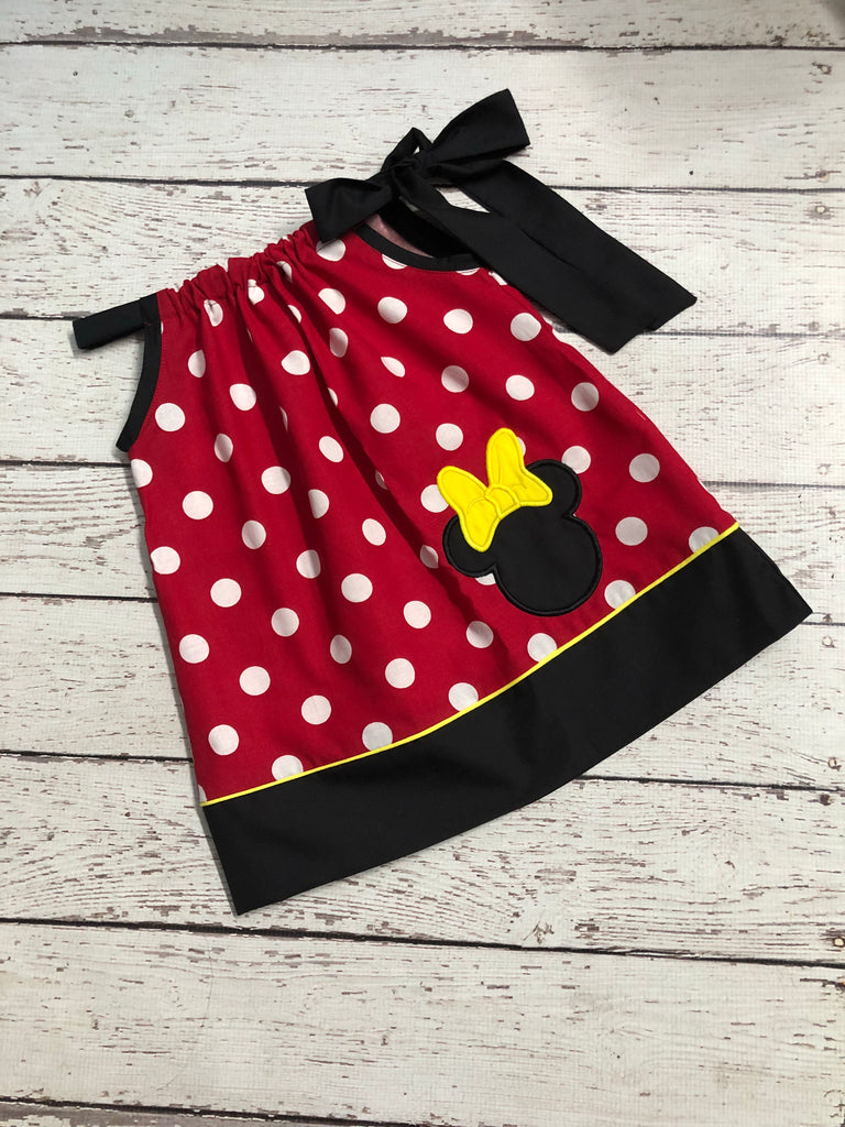 Minnie Mouse Pillow Dress