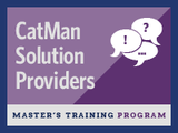 Learn more about our CatMan Master's Training Program for Solution Providers