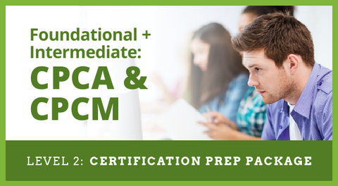 Level 2 Exam Preparation Package for Category Management Certification for CPCA, CPCM or CPCA + CPCM Accreditation