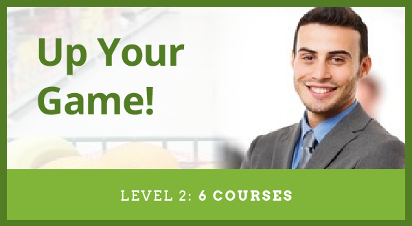 Level 2  Up Your Game (6 courses) On-Demand Learning