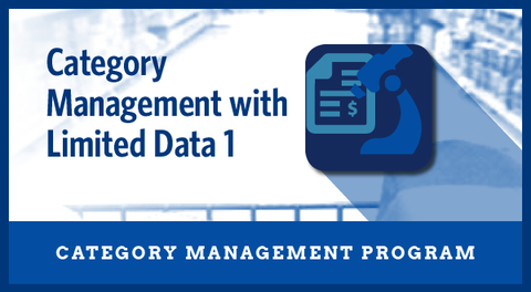 Category Management with Limited Data 1