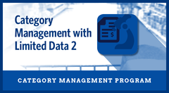 Category Management with Limited Data 2 Business Priority Program