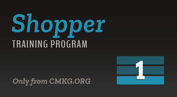 Shopper Training Program - Level 1 (Foundations)