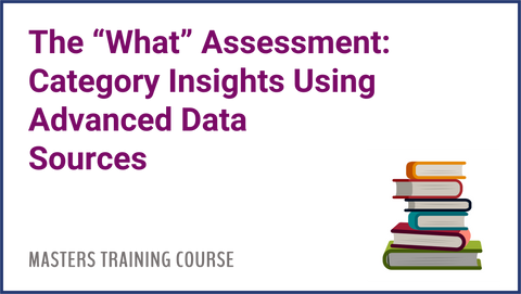 The What Assessment: Category Insights Using Advanced Data Sources