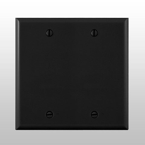 BEA 70.5273 Double Gang BLACK Faceplate ONLY for MS08