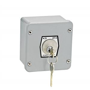 1KXL Exterior Key Switch w/ Lockout Control
