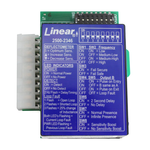 Linear 2500-2346: Plug-in Loop Detector for APeX Control Board