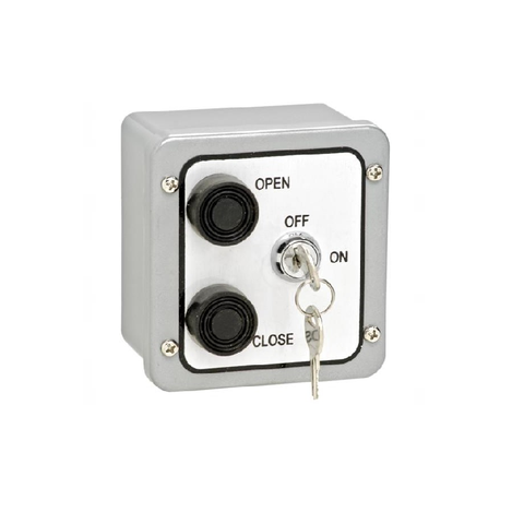 2BXL Open/Close Exterior Control Station w/ Lockout (Metal)