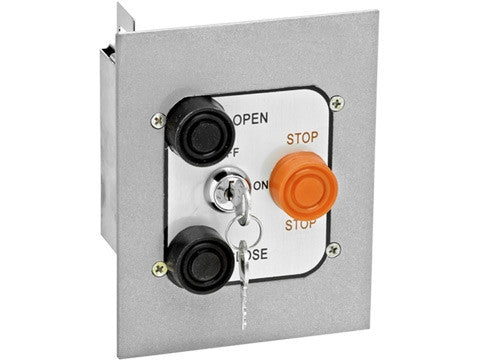 3BFLM Interior Open/Close/Stop Control with Mortise Lockout
