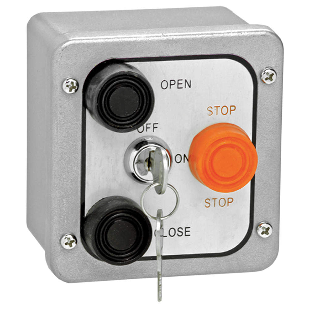 3bxl Open Close Stop Exterior Control Station W Lockout