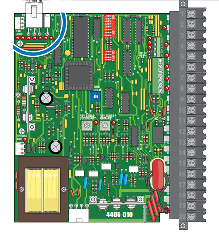 Doorking Replacement 4405-010 Circuit Board