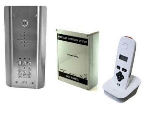 AES Global 603-ASK-US Wireless Architectural SS w/keypad