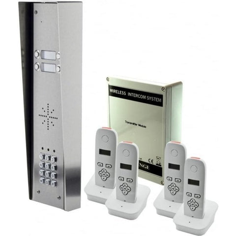 AES Global 703-HSK4-US 4 way kit with keypad