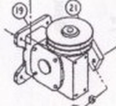 2110-117 Reducer and Crank Arm Assembly [#19]