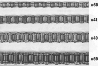 2200-202 Drive Chain - #40 Roller Chain (per ft) [#34]