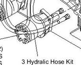 HySecurity MX001129 SlideDriver Hose Kit 3 Hoses