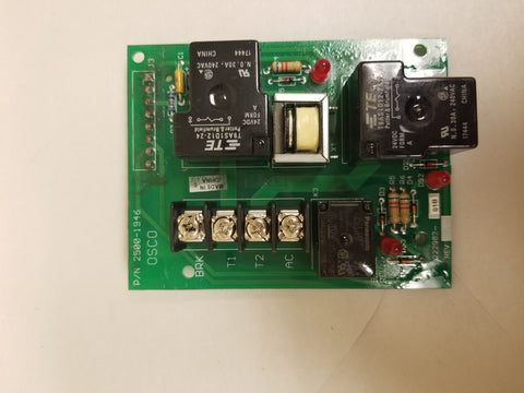 [07] 2500-1946 Motor Board - Single Phase Motor Board Only