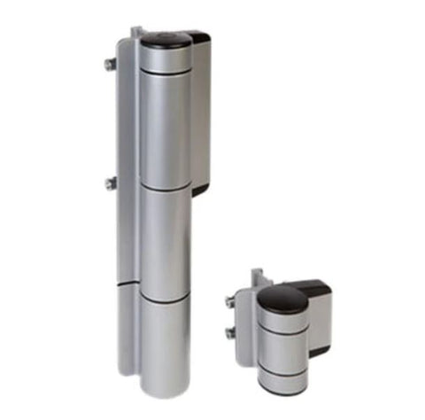Locinox USA MAMMOTH180-ZILV Gate closer and hinge, silver