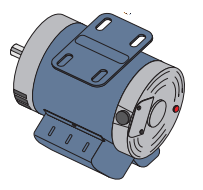 All-O-Matic MTR-1750 1 HP DC MOTOR for SL-150DC