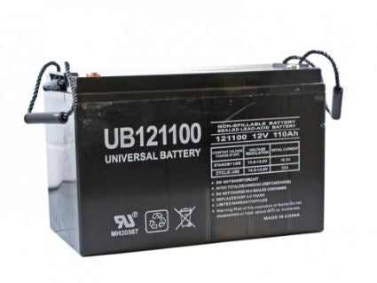 HySecurity MX000877 Battery, 12V, 110Ah, AGM