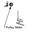 MX001403 Pulley, Motor, 24T, 9 mm
