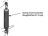 MX002390 Spring Assist Assembly, StrongArmPark DC