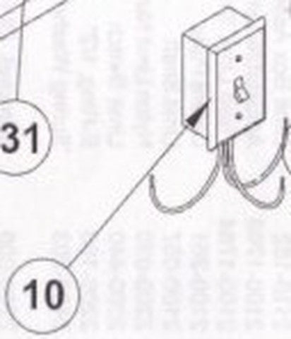 2510-266-C Power On/Off Switch Assembly [#10]