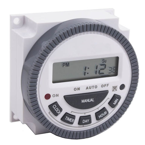 AAS S-T12 TIMER, 7 DAY 12 VAC/VDC