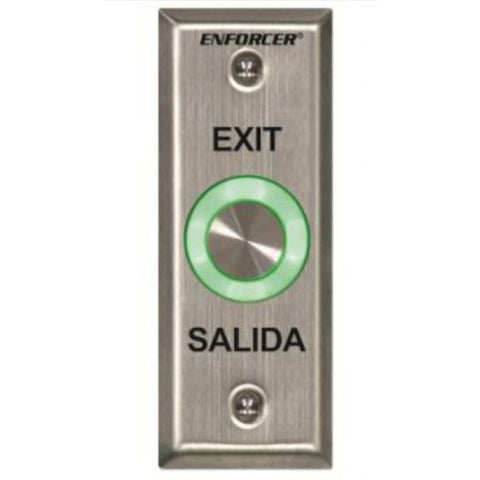 Seco-Larm SD-6176-SS1Q Pusbutton-EXIT and SALIDA