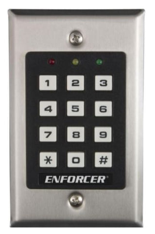 Seco-Larm SK-1011-SDQ Indoor Stand Alone Keypad, 1000 Users
