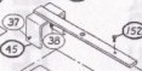 2110-536 Yoke and Slide Bar Assembly [#45]