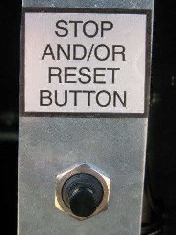 2500-1495 Stop/Reset Button