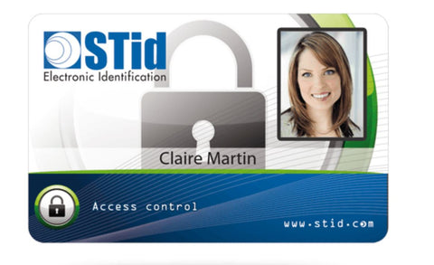 "RFID TT-CCT-001 Credit Card Tag 3.375"" x 2.125"""