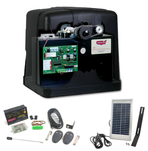 US Automatic US-020430 PATRIOT SLIDER SOLAR WITH LCR RADIO