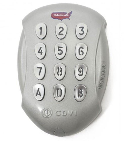 US Automatic US-050550 METAL LCR KEYPAD 24 CODE WIRELESS