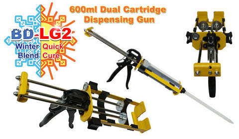 BD LG2-GUN Dripless dual cartridge dispensing gun for BD-LG2.