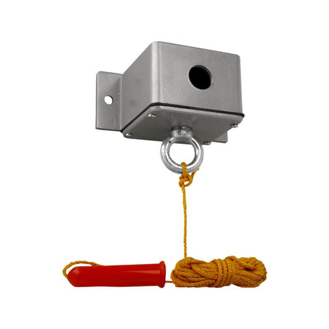 CPM-1H Exterior Ceiling Pull Switch with Heater