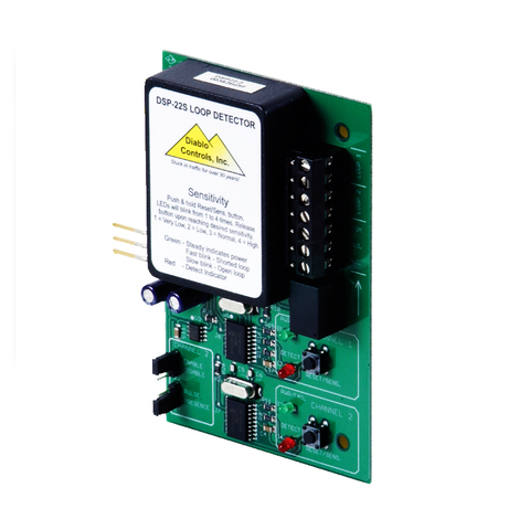 Diablo Controls DSP-22 Two Channel Loop Detector