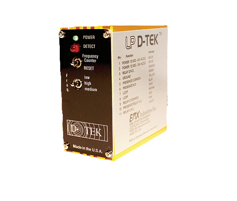 EMX DTEK LP LOW POWER VEHICLE LOOP DETECTOR