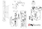 MX3104 Breakaway Bracket Hardware Kit, HyProtect™